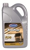 Масло моторное минеральное TransFlow FL 30, 5л
