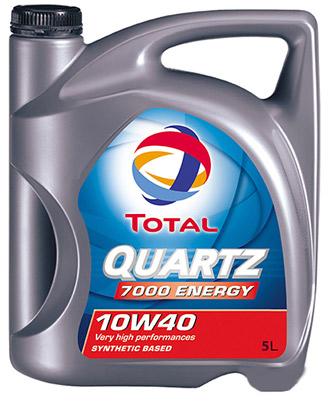 Масло моторное Total QUARTZ 7000 ENERGY 10W-40 5л