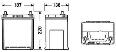 Аккумулятор Deta SENATOR3 DA386 38 а/ч