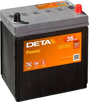 Аккумулятор Deta POWER DB356 35 а/ч