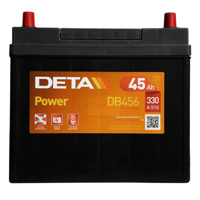 Аккумулятор Deta POWER DB456 45 А/ч