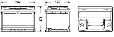 Аккумулятор Deta STANDARD DC542 54 А/ч