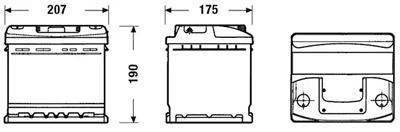 Аккумулятор Deta STANDARD DC440 44 А/ч