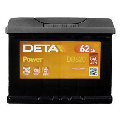 Аккумулятор Deta POWER DB620 62 А/ч