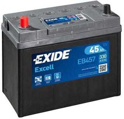 Аккумулятор Exide Excell EB457 45 а/ч