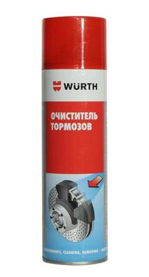 Купить Очиститель тормозов Wurth 8901087 0.5л в AutoOstrov.by