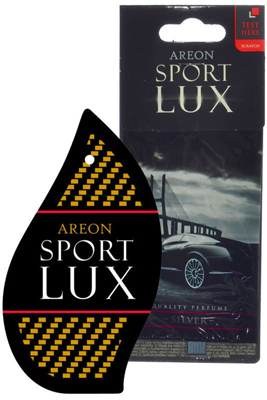 Ароматизатор салона бумажный Areon Sport Lux Silver