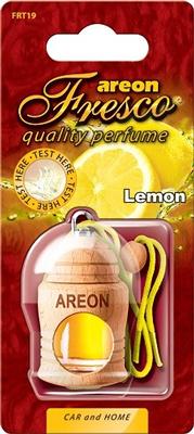 Ароматизатор салона Areon Fresco Lemon жидкий дер. бутылочка