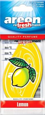 Ароматизатор салона бумажный Areon Refreshment (лимон)