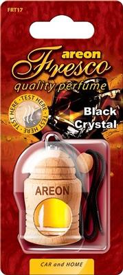 Ароматизатор салона Areon Fresco жидкий дер. бутылочка (черный кристалл)