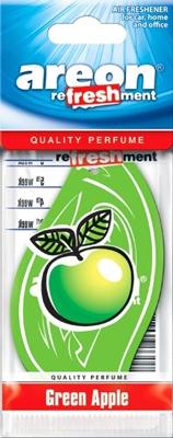 Ароматизатор салона бумажный Areon Refreshment (зеленое яблоко)