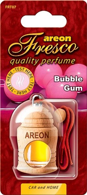 Ароматизатор салона Areon Fresco Bubble Gum жидкий дер. бутылочка