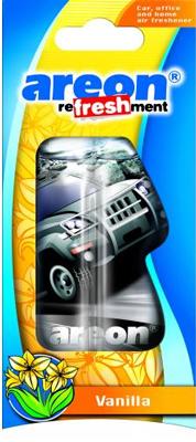 Ароматизатор салона Areon Refreshment Liquid (ваниль) гель
