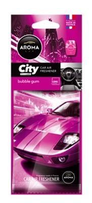 Ароматизатор салона бумажный Aroma Car City Card (жевательная резинка)