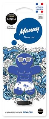 Ароматизатор салона пластиковый Aroma Car Manny (новое авто)