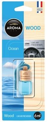 Ароматизатор салона жидкий Aroma Car Wood (океан)