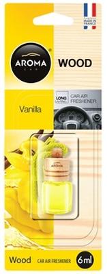 Ароматизатор салона жидкий Aroma Car Wood (ваниль)