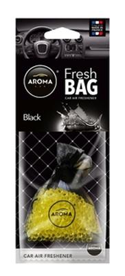 Ароматизатор салона гелевый Aroma Car Fresh Bag Black 20гр