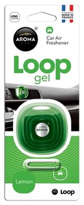 Ароматизатор салона гелевый Aroma Car Loop (лимон)