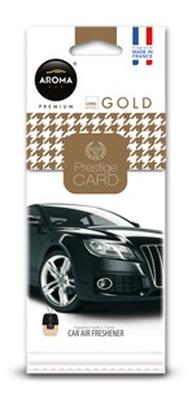 Ароматизатор салона бумажный Aroma Car Prestige Gold