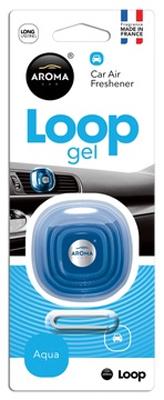 Ароматизатор салона гелевый Aroma Car Loop (аква)