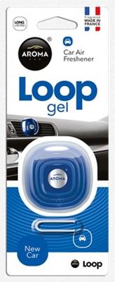 Ароматизатор салона гелевый Aroma Car Loop (новое авто)