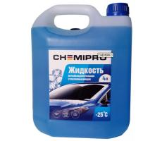 Стеклоомывающая жидкость Chemipro лимон -25°С 4л