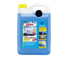 Стеклоомывающая жидкость Sonax концентрат лимон 5л