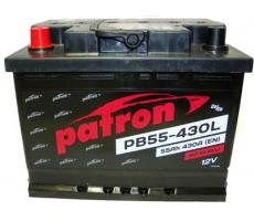 Аккумулятор Patron PB55-430L 55 а/ч