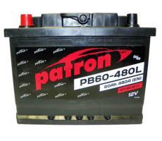 Аккумулятор Patron PB60-480L 60 а/ч