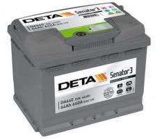 Аккумулятор Deta SENATOR3 DA640 64 а/ч