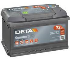 Аккумулятор Deta SENATOR3 DA722 75 а/ч