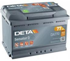 Аккумулятор Deta SENATOR3 DA770 77 а/ч