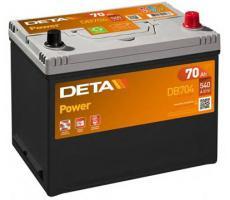 Аккумулятор Deta POWER DB704 70 А/ч
