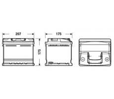 Аккумулятор Deta STANDARD DC412 41 А/ч