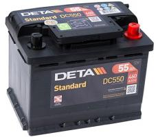 Аккумулятор Deta STANDARD DC550 55 А/ч