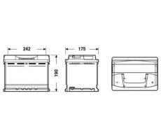 Аккумулятор Deta SENATOR3 DB621 62 А/ч