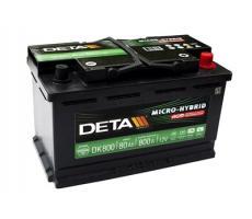 Аккумулятор Deka MICRO-HYBRID DK800 80 А/ч