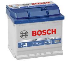 Аккумулятор Bosch S4 Silver 002 52 а/ч