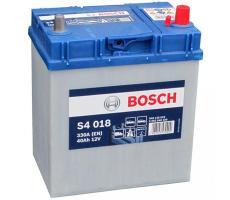 Аккумулятор Bosch S4 Silver 018 40 а/ч