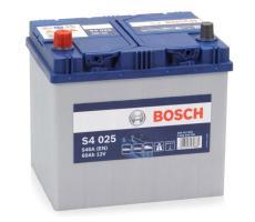 Аккумулятор Bosch S4 Silver 025 60 а/ч