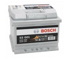 Аккумулятор Bosch S5 Silver Plus 001 52 а/ч