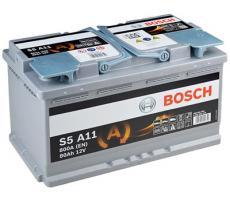 Аккумулятор Bosch S4 AGM A11 80 А/ч