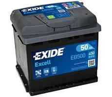 Аккумулятор Exide Excell EB500 50 а/ч