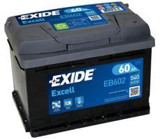 Аккумулятор Exide Excell EB602 60 а/ч