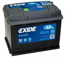 Аккумулятор Exide Excell EB620 62 а/ч