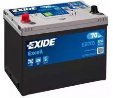 Аккумулятор Exide Excell EB705 70 а/ч