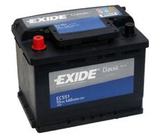 Аккумулятор Exide Classic EC551 55 а/ч