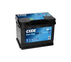 Аккумулятор Exide Start-Stop AGM EK600  А/ч