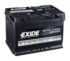 Аккумулятор Exide Micro-Hybrid ECM EL700 70 а/ч